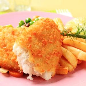 Gluten Free Breaded Cod