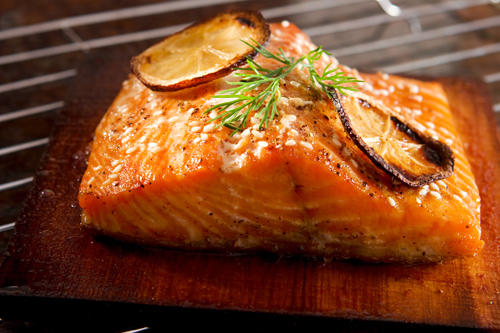 Planked Wild Salmon