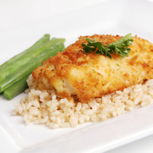 Cheddar and Chive Cod Fillets