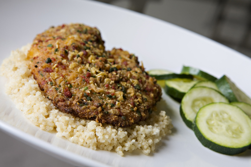 Chipotle Lime Crusted Tilapia